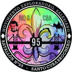 EMBLEMA BATA 95 RIO II