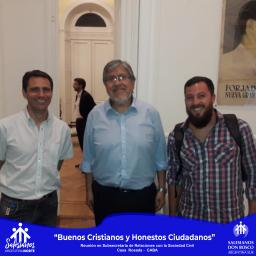 Exploradores de Don Bosco, convocados por el Gobierno Nacional para voluntariado articulado