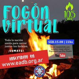 Fogón Virtual por los 105 años de los EADB